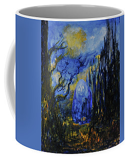 Coffee Mug featuring the painting Old Ways by Christophe Ennis