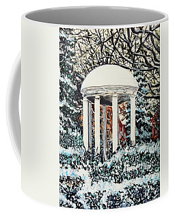 Old Well Winter Coffee Mug
