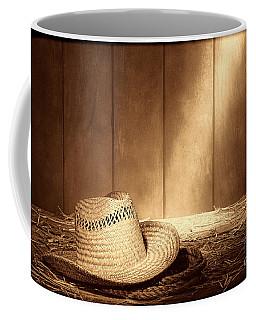 Old West Farmer Hat Coffee Mug
