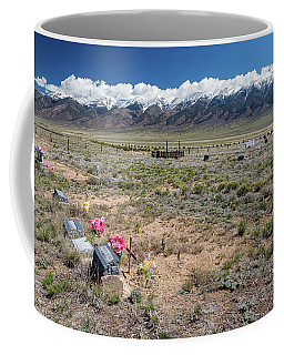 Old West Rocky Mountain Cemetery View Coffee Mug by James BO Insogna
