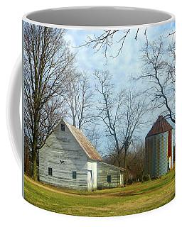 Old White Barn Coffee Mug by Tina M Wenger