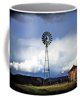 Old Windmill And Tank 2017 Coffee Mug