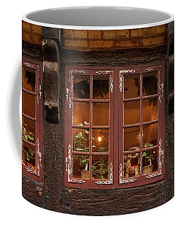 Coffee Mug featuring the photograph Old Windows - 365-275 by Inge Riis McDonald