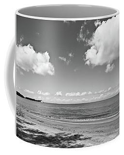 Old Woman Creek - Black And White 5 Coffee Mug