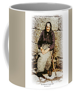 Old Woman Of Spain Coffee Mug