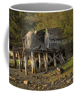 Old Wood House On Stilts Coffee Mug