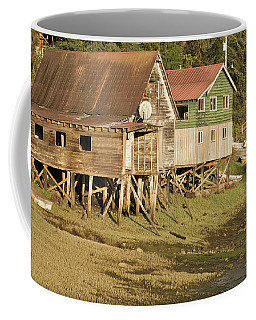 Old Wood Stilt Houses Coffee Mug