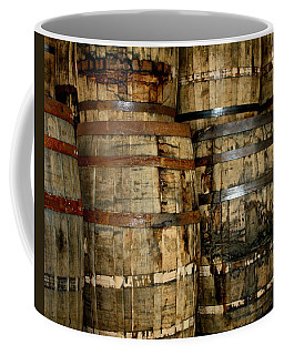 Old Wood Whiskey Barrels Coffee Mug