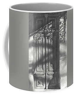 Old Wooden Door  Coffee Mug