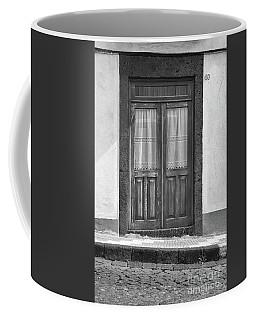 Old Wooden House Door Coffee Mug