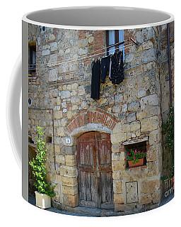 Old World Door Coffee Mug