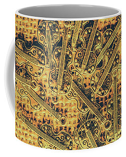Old-world Musical Composition Coffee Mug
