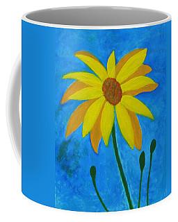 Old Yellow  Coffee Mug by John Scates