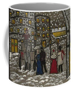 Olde Days In The Big Apple Coffee Mug