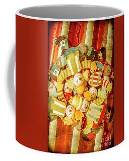 Olden Day Clown Show Coffee Mug