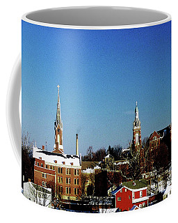 Coffee Mug featuring the photograph Oldenburg Indiana by Gary Wonning