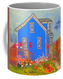 Oldlady's Flower Garden Coffee Mug