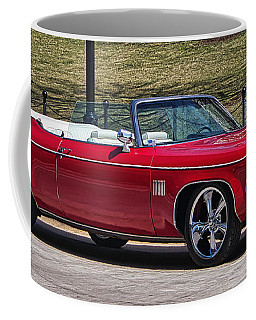 Oldsmobile Delta Royale 88 Red Convertible Coffee Mug