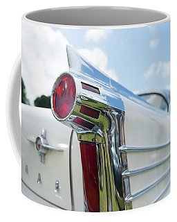 Oldsmobile Tail Coffee Mug by Helen Northcott