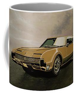 Oldsmobile Toronado 1965 Painting Coffee Mug