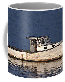 Ole Boy Painting Coffee Mug by  Newwwman