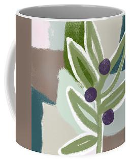 Olive Branch 2- Art By Linda Woods Coffee Mug