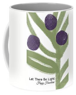 Olive Branch Hanukkah Card- Art By Linda Woods Coffee Mug