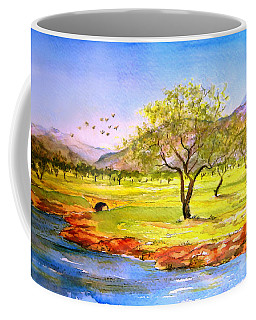 Olive Grove Coffee Mug