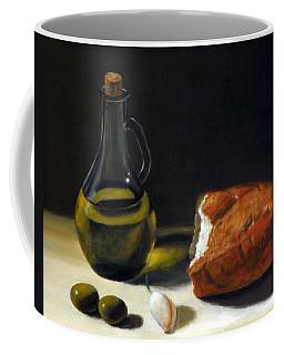 Olive Oil And Bread Coffee Mug