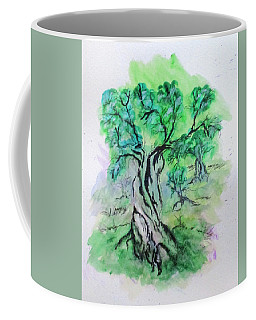 Olive Tree Grove Coffee Mug