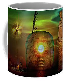 Olmec  Mystique Coffee Mug by Shadowlea Is