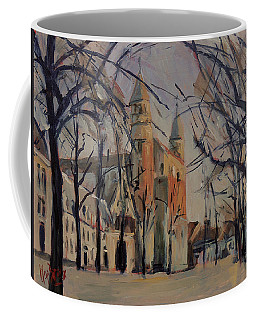 Olv Square On A Sunny Winter Afternoon Coffee Mug