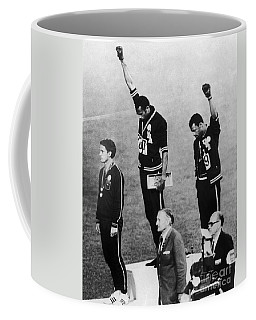 Coffee Mug featuring the photograph Olympic Games, 1968 by Granger