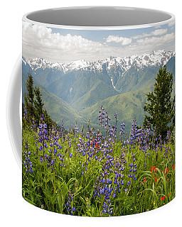 Olympic Mountain Wildflowers Coffee Mug