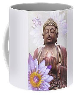 Om Mani Padme Hum - Buddha Lotus Coffee Mug
