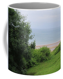 Omaha Beach At Peace Coffee Mug