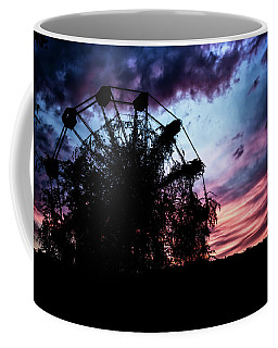 Ominous Abandoned Ferris Wheel Coffee Mug