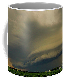Coffee Mug featuring the photograph Ominous Nebraska Outflow 007 by NebraskaSC
