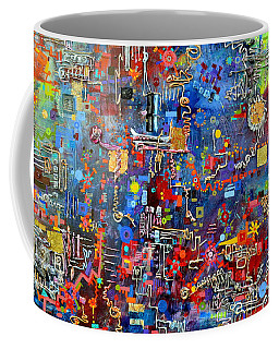 On A Chip Coffee Mug by Regina Valluzzi