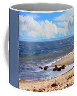 On A Clear Day Coffee Mug by Judy Palkimas