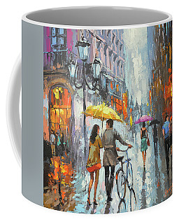 On A Cloudy Day  Coffee Mug