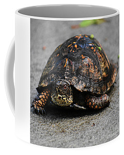 Coffee Mug featuring the photograph On A Mission by Skip Willits