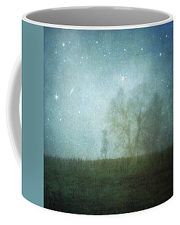 On A Starry Night, A Boy And His Tree Coffee Mug