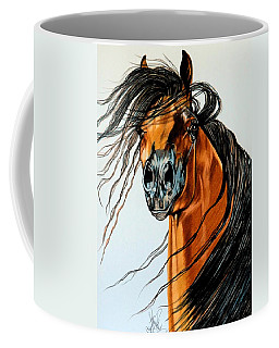 On A Windy Day-dream Horse Series #2003 Coffee Mug