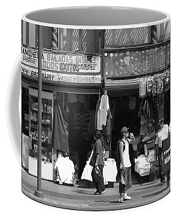 Coffee Mug featuring the photograph On Broadway Los Angeles Style by Lorraine Devon Wilke