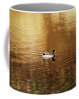On Golden Pond Coffee Mug by Yumi Johnson