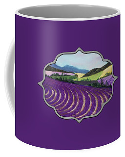 On Lavender Trail Coffee Mug