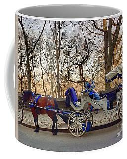 On My Bucket List Central Park Carriage Ride Coffee Mug