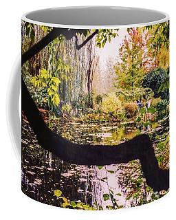 On Oscar - Claude Monet's Garden Pond  Coffee Mug