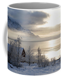 On My Way Through Lofoten 4 Coffee Mug